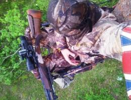 Белорусский охотник на тристенде