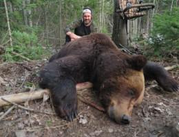 Медведь с лабаза-самолаза SCORPIO