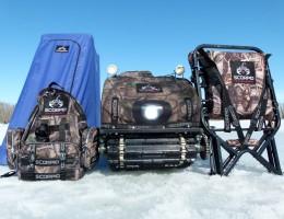 Продукция Scorpio - палатка, рюкзак, мотособака от партнера