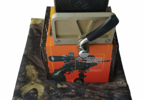 Платформа-зажим для винтовки